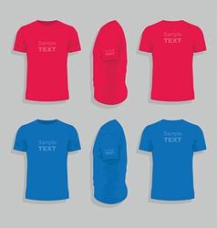 Men s t-shirt design template vector image vector image