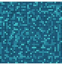 mosaic elements vector image vector image