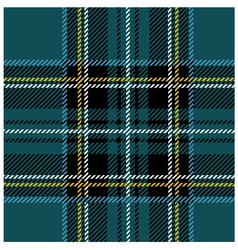 Traditional Seamless Blue Tartan Pattern vector image vector image