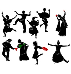 Ethnic dance vector