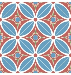 Decorative mosaic seamless pattern vector