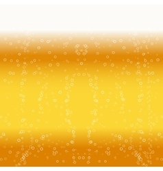 Beer foam background vector