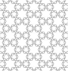 Abstract delicate arabic seamless pattern with vector image vector image