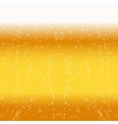 Beer foam background vector
