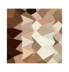 Burlywood brown abstract low polygon background vector
