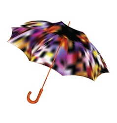 Umbrella on a white background vector