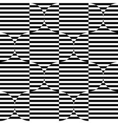 Black and white geometric stripe seamless vector