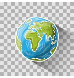 Doodle globe vector image vector image