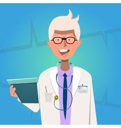 Hospital doctor poster vector