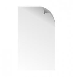 page corner vector image