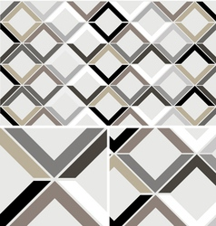 Vintage Chevron Diamond seamless pattern vector image