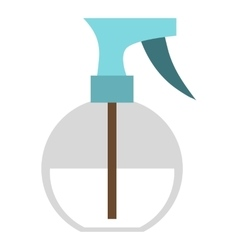 Sprayer bottle icon flat style vector