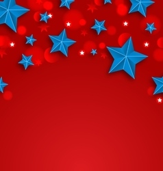 Stars background for american holidays place for vector
