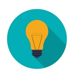 Light bulb icon design vector