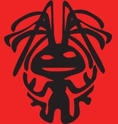 Alien clipart design design vector