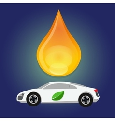 bio fuels ethanol green energy alternative oil vector image vector image