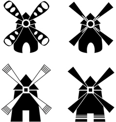Strong windmill vector