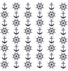 Background with helms and anchors vector