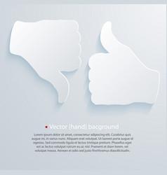 paper good bad vector image vector image