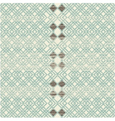 Repeating retro pattern vector image vector image