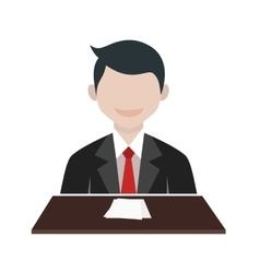 News Anchor vector image