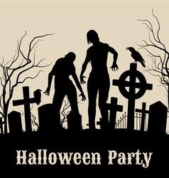 Halloween party vector