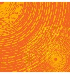 Grunge Rings Yellow vector image
