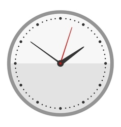 Clock face watch vector image