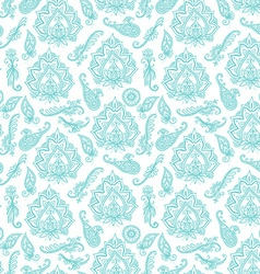 Seamless indian pattern based on traditional asian vector