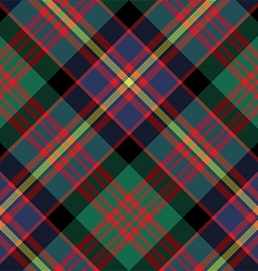 Cameron of erracht tartan fabric texture diagonal vector