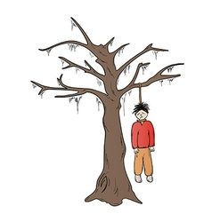 Hangman and the tree vector