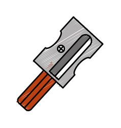 sharpener icon image vector image