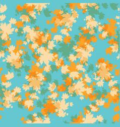 Autumn maple seamless vector