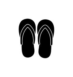Flip flops sandals vector