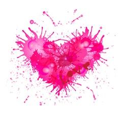 Heart - art object vector image