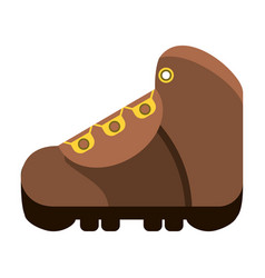 hiking boot icon image vector image vector image