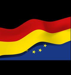 national symbol of germany flag vector image