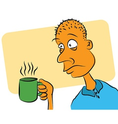 Needs Coffee vector image vector image