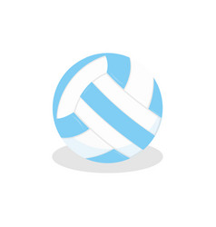 Volleyball icon on white isolated background vector