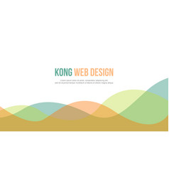 Abstract background for header website style vector