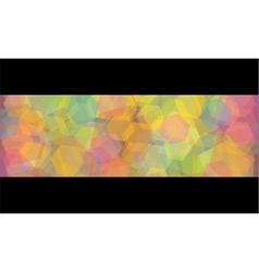Abstract kaleidoscope geometric background vector