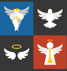 christian sign and symbol vector image vector image