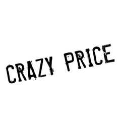 Crazy price rubber stamp vector
