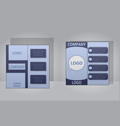 Sets of modern light business card template for vector