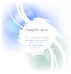 Soft grunge design for card vector image vector image