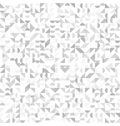 Seamless geometric vintage pattern with triangles vector