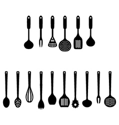 Kitchen accessories vector