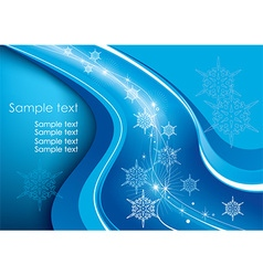 White winter christmas background vector