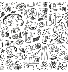 Photography - seamless background vector image vector image