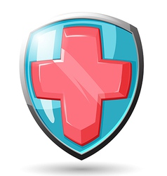 Shield Security Protect vector image vector image